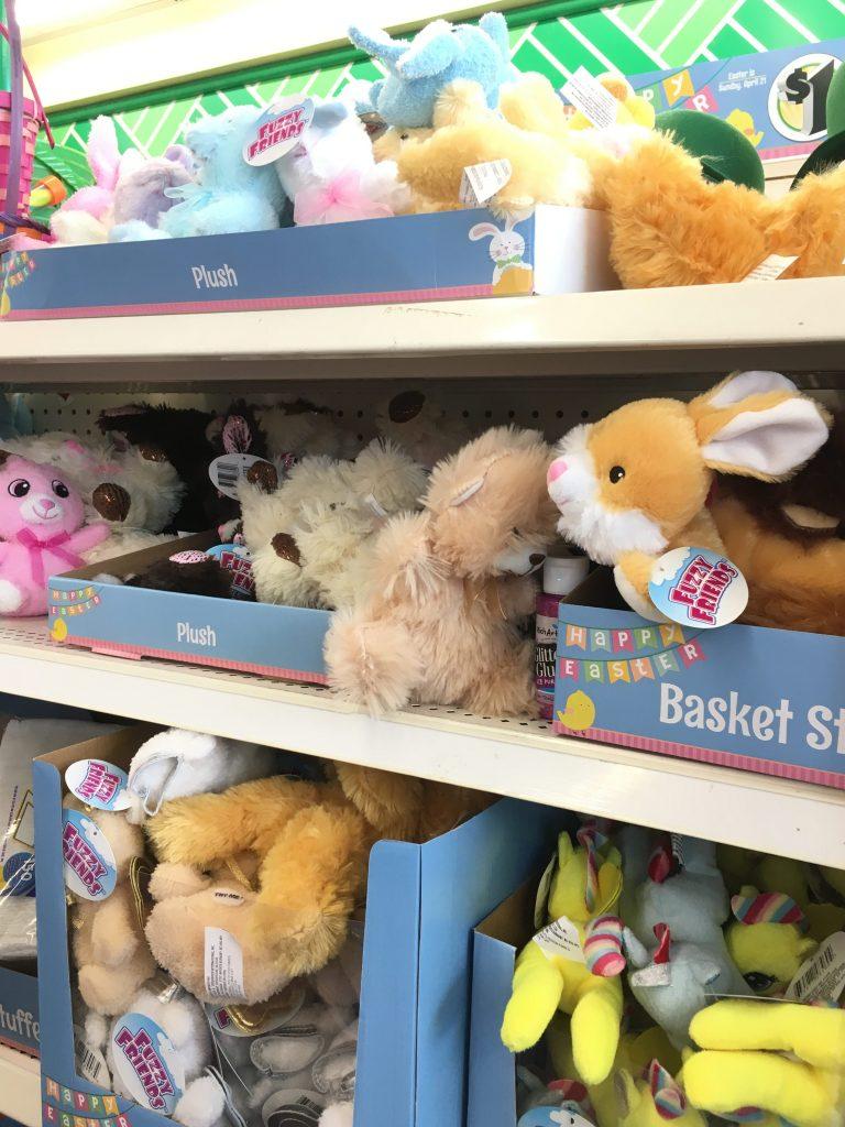 dollar tree easter bunnies