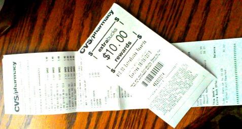 extrabucks receipts
