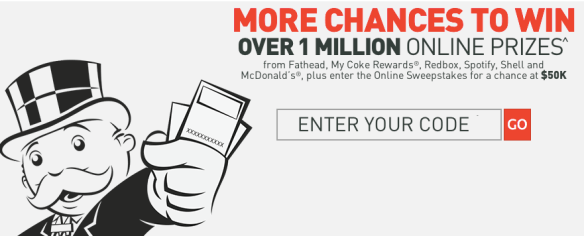 McDonald's Monopoly Instant Win Game & Sweepstakes is Back