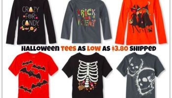cf519611 The Children's Place: Halloween Tees AND Bodysuits Under $4 Shipped (Glow  in the Dark