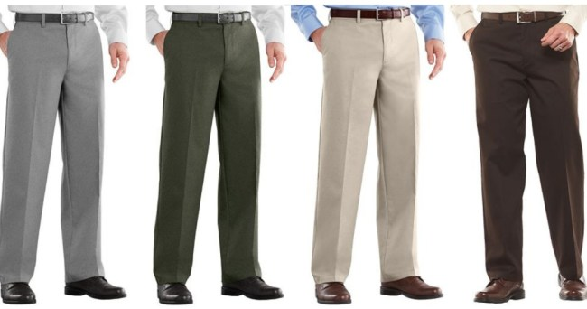 f300cf0e Hop on over to Kohl's.com where select styles and colors of Men's Croft &  Barrow Casual Pants are on clearance for as low as $9.60 (reg. $48).