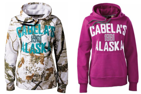 a2ef24d591776 Cabela's Women's Camo Alaska Hoodie Only $14.88 (reg. $59.99) with promo  code 16SAVINGS