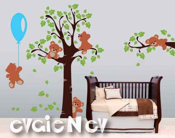 Teddy Bears Wall Stickers