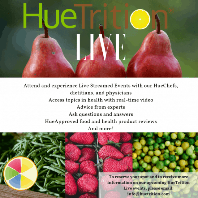 HueTrition.live – this is going to be your one stop place for all the nutritional advice, encouragement, and recipes you need to start off the new year for a healthier you!