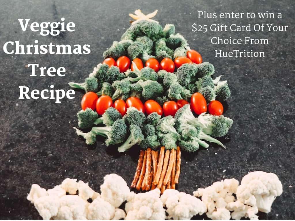 Veggie Christmas Tree Recipe