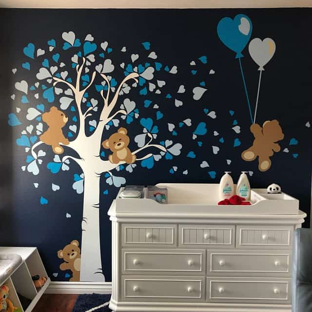 Teddy Bears LOVE Wall Decals image