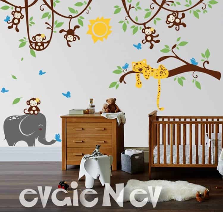 $150 EvgieNev wall decals