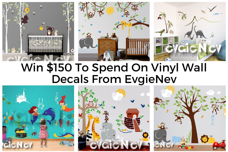 $150 Towards EvgieNev Wall Decals Giveaway