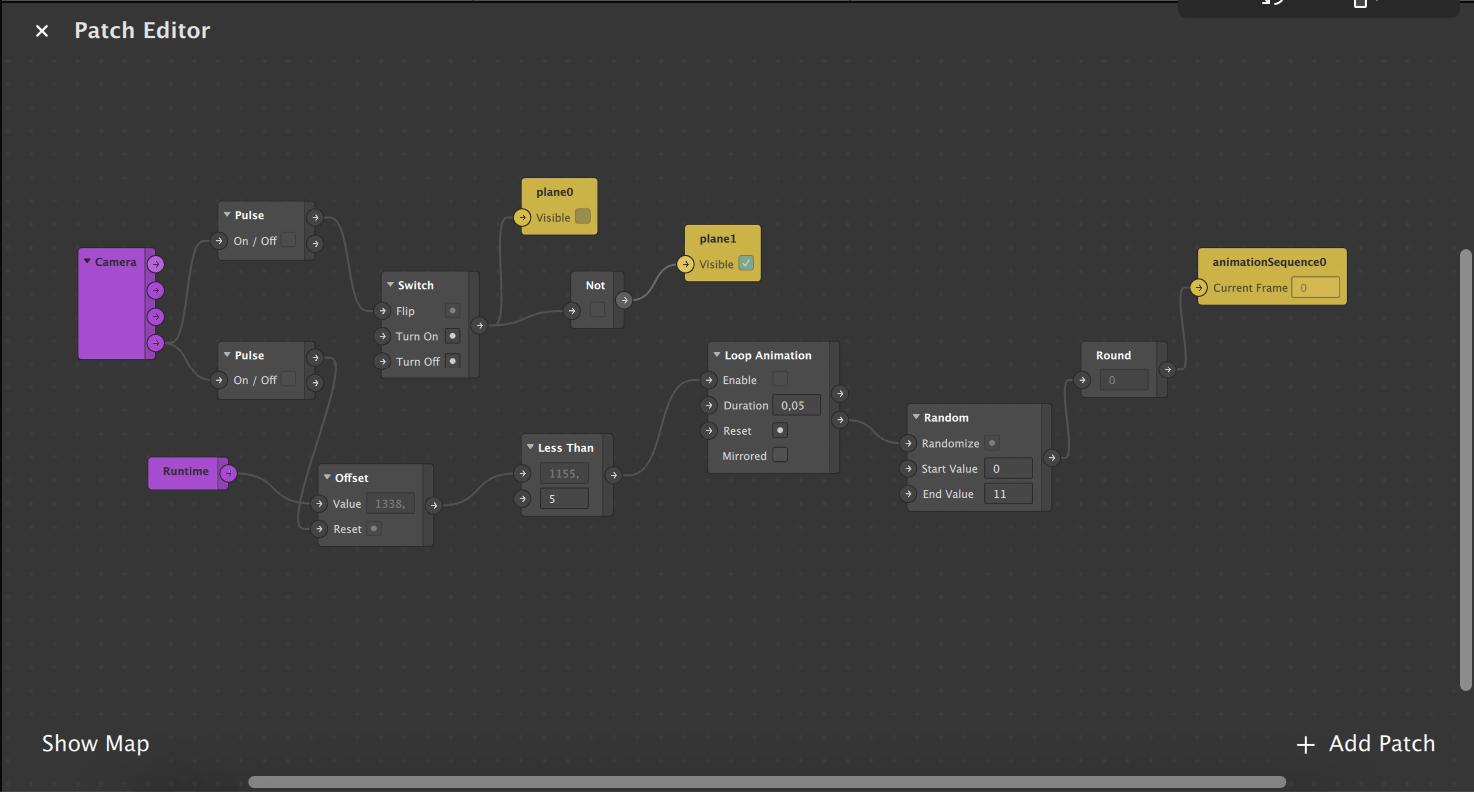 Spark AR Studio - Animation filtre