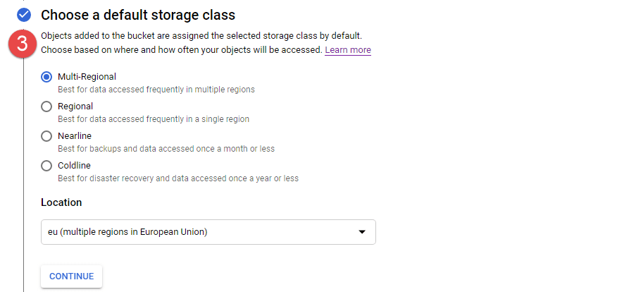 Choose a Default Storage Class