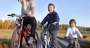 učenje vožnje bicikla