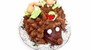Jež torta