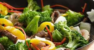 povrće u woku
