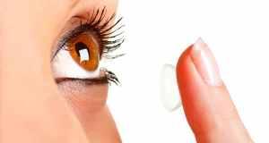 stavljanje kontaktne leće