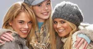 djevojke u pletenom