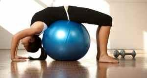 vježbanje na lopti