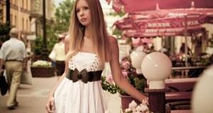nježna i sofisticirana ljetna haljina