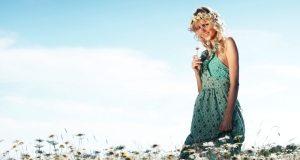 haljina sa geometrijskim printom