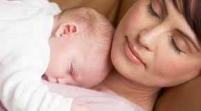 Savjeti kako se naspavati uz malu bebu