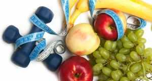 voće i utezi