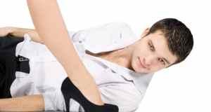 Muškarac i ženska noga