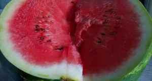 Kako jesti lubenicu