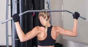žena koja vježba