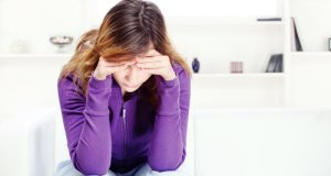 nesretna žena