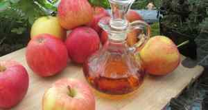 jabučni ocat, jabuke