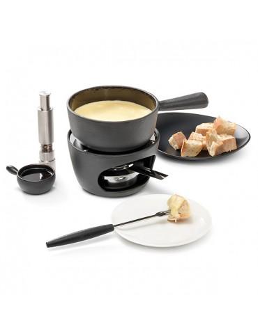 service fondue au fromage ou chocolat individuel stockli