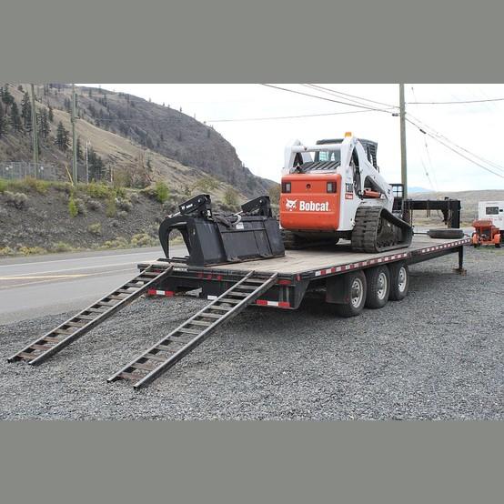 T300 Bobcat Track Loader Trailer Package For Sale