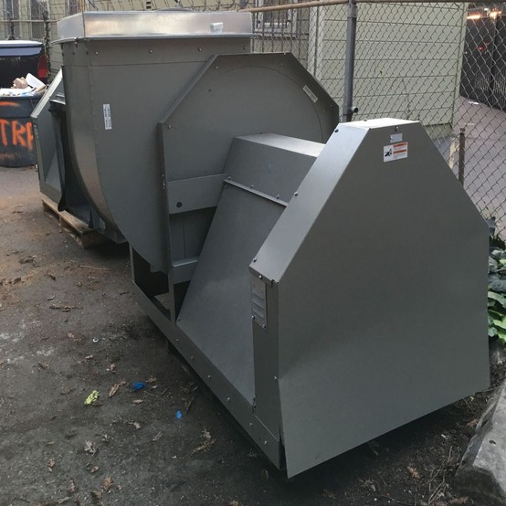greenheck csw 27 7 5 hp fan for sale