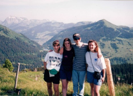 Visiting the Swiss Alps