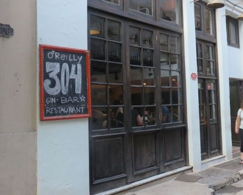 304 O'Reilly serves creative cocktails and delicious traditional food
