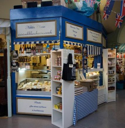 Nibbles Cheese in Bath GuildHall Market