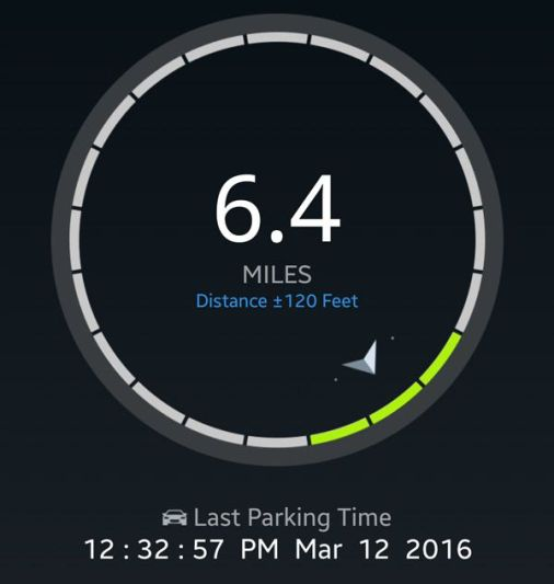 Locating your car with the ZUS app