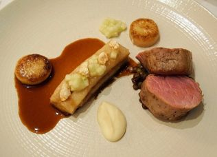 Manor House pork belly and fillet.
