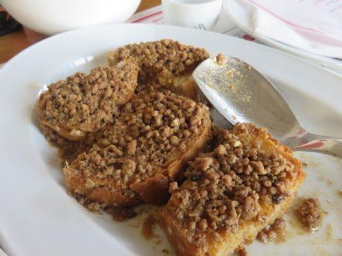 Meat Ragu on Toast at Soloccicia