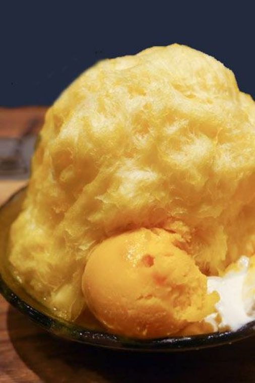 ICE MONSTER is a shaved-ice trend from Taiwan that you'll find is quite popular in Tokyo.