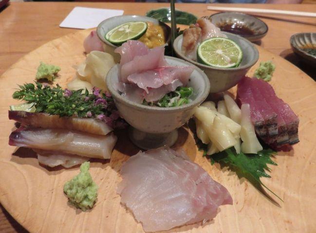 Sushi Matsue in Tokyo