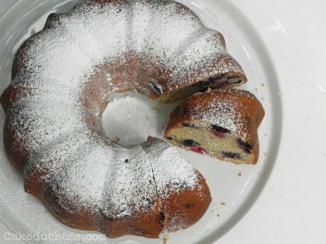 Blueberry Buttermilk Cake