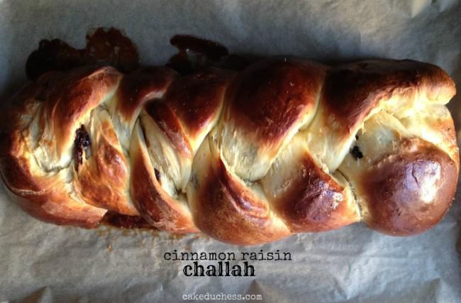 Cinnamon Raisin Challah