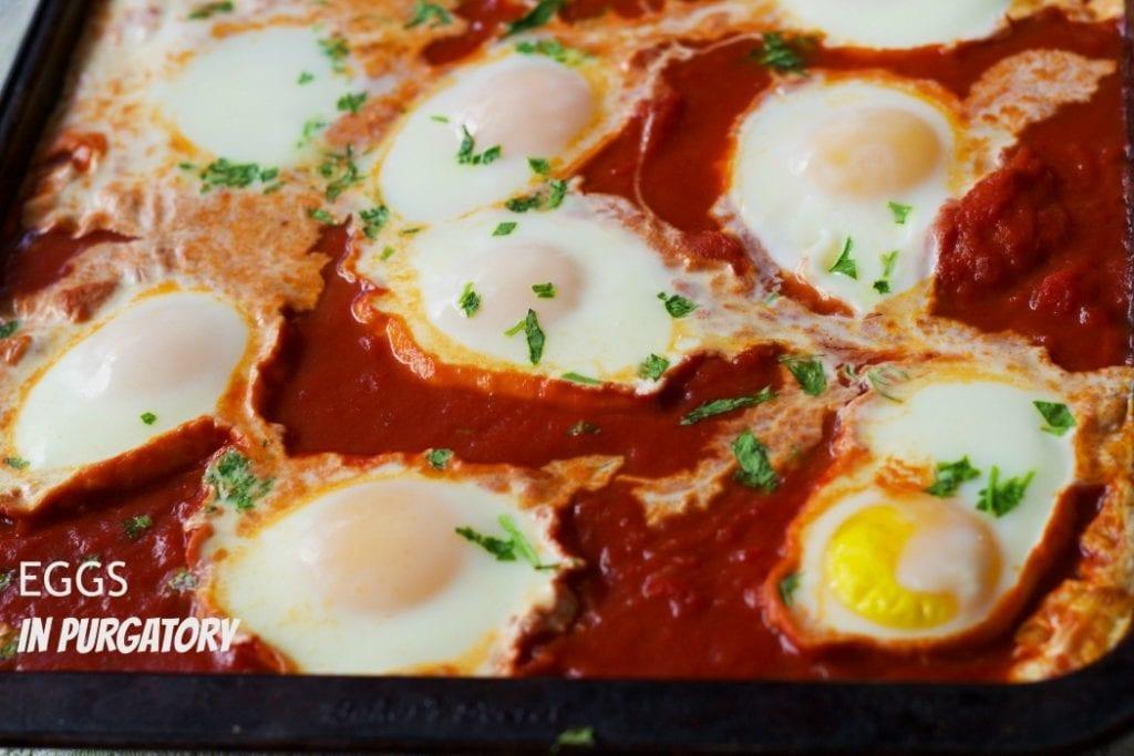 Eggs in Purgatory-Uova in Purgatorio
