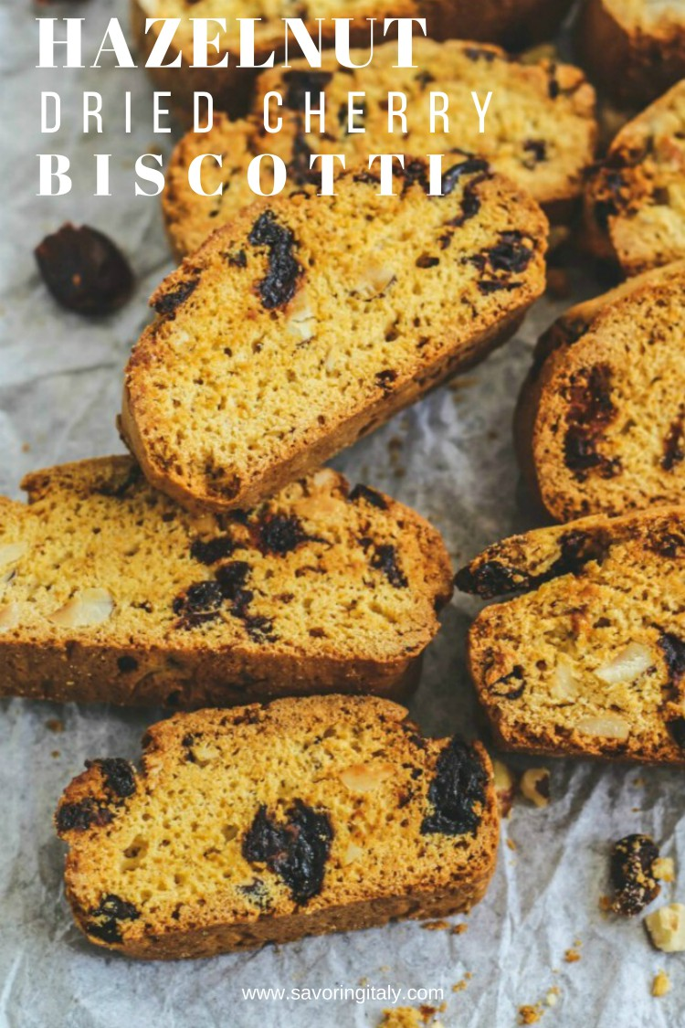 overhead image of dried fruit biscotti