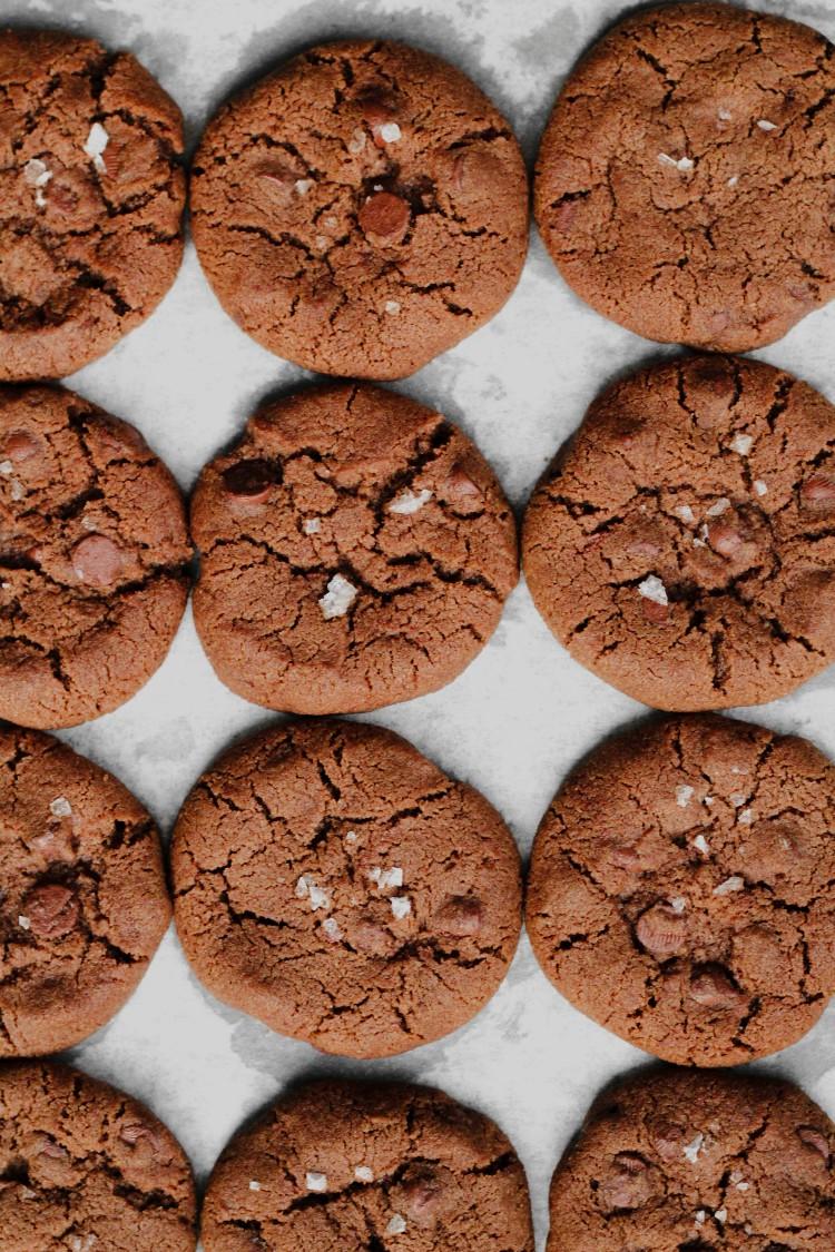 overhead image of world peace cookies