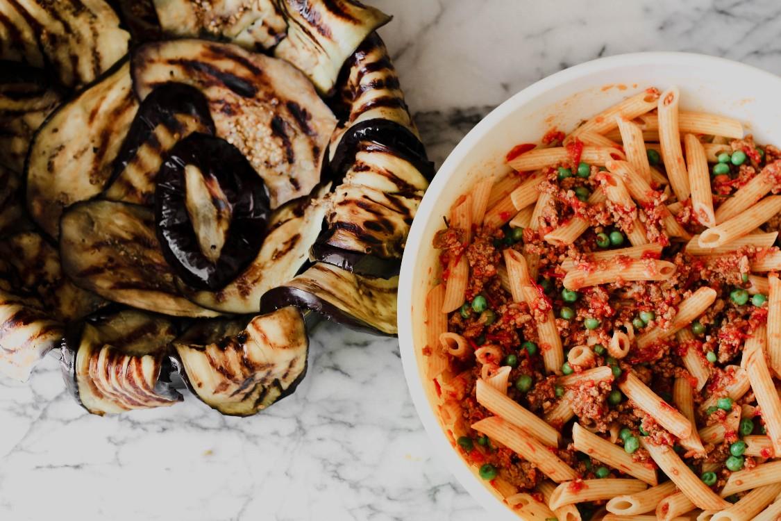image of making a stuffed pasta dish