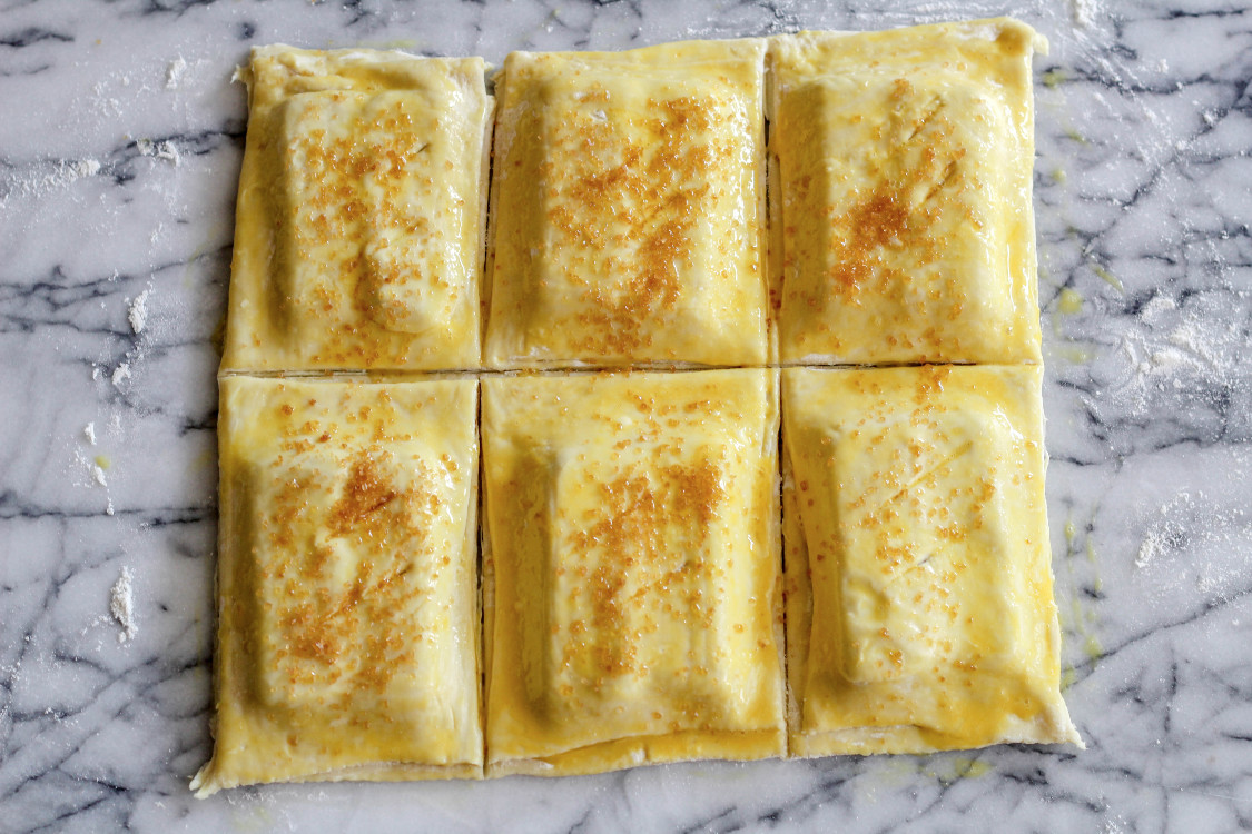 image of guava pastry squares