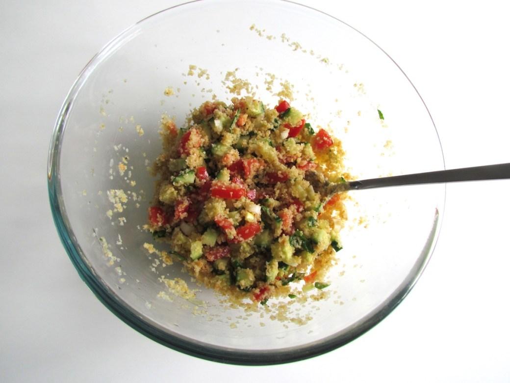 bulgur vegetable salad