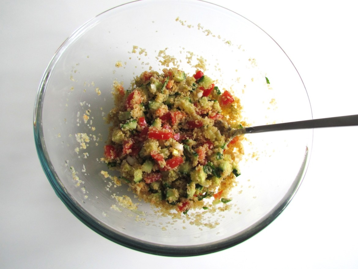 bulgur vegetable salad