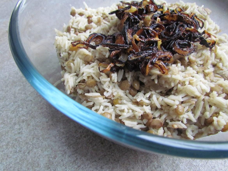 mujaddara rice